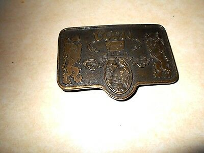 Men Belt Buckle Adolph Coors Beer Company