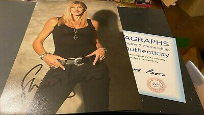 Sharron Davies---Olympic Swimmer-----Rare---10X8----Autographed--Photo-With Coa