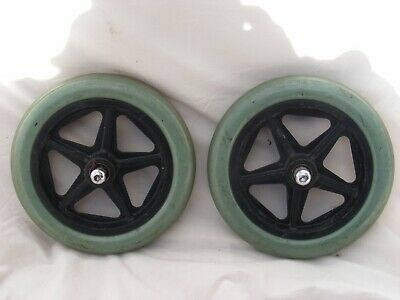 Wheelchair Front Wheels Solid Caster Wheels For Wheelchair #167