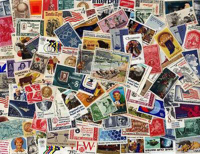 Vintage Lot Of 25 Mint MNH United States Postage Stamps - Fresh & Clean