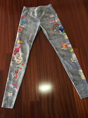 Girl's Zara Terez Trolls Leggings Size XL