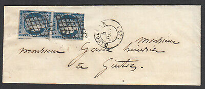 N°4 Paire Grille Libourne Guitres Gironde Lettre Cover