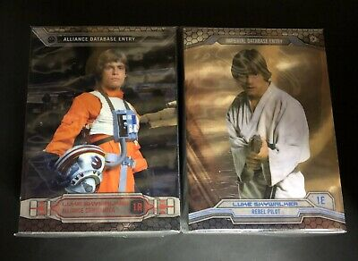 Star Wars Chrome Perspectives 2014 Mini Master Complete Base & Chase Card Set