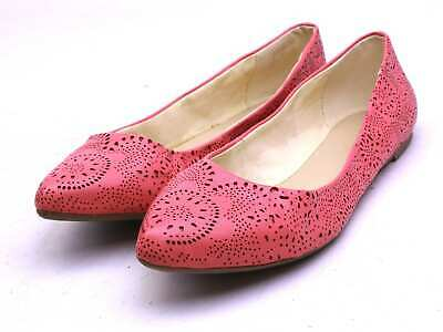 Long Tall Sally Womens UK Size 8 Pink Shoes