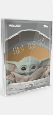 "2020 Topps Star Wars The Mandalorian The Child Sticker 15-Card Set ""Baby Yoda"""