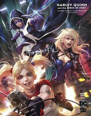 HARLEY QUINN & THE BIRDS OF PREY 1 (of 4) DERRICK CHEW VARIANT NM