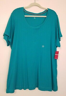 Avenue Womens Plus Size Pullover/Tshirt Size 22/24 Green