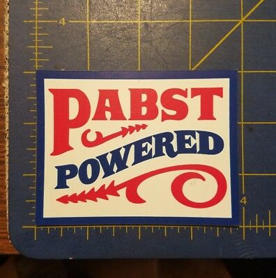 New Unused Pabst Blue Ribbon Pabst Powered Refrigerator Magnet! Man Cave  Pbr