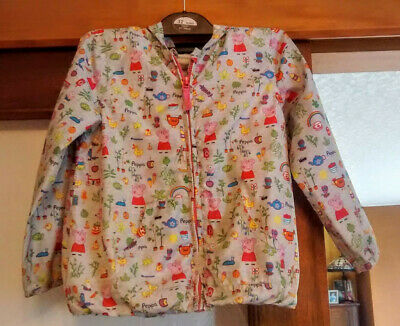 Next ~ Girls Peppa Pig Lightweight Jacket/Coat With Hood ~ Age 4-5 Years