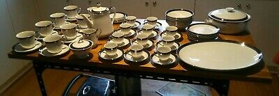 Vintage Japanese tea set. Seyei fine china. Japan. Platinum 1971