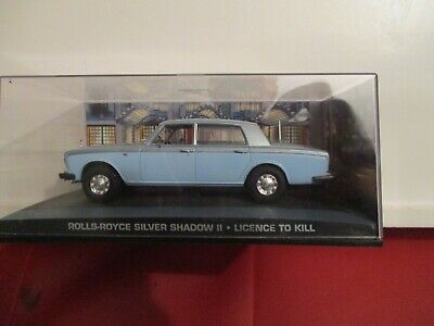 JAMES BOND CARS COLLECTION 107 ROLLS ROYCE SILVER SHADOW Licence To Kill