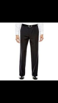 Collection by Michael Strahan Striped Black Suit Pants - Classic Fit 32 X 30 NWT