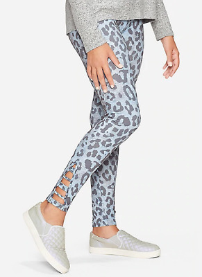 Justice Girls Size 12 Animal Print Leggings New With Tags