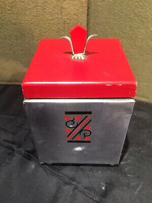 Vintage Art Deco Cigarette Dispenser Designed by Mar-Le Chicago
