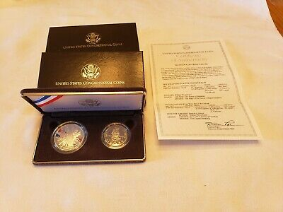 1989 S -United States Congressional Coins -Two Coin Proof Set
