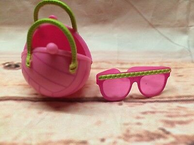 RETIRED LOL Lil Sister BABY Surprise Doll Purse Bag Sunglasses Spike Volley Ball