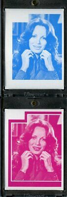 1977 Topps Charlies Angels Color Separation Proof Cards. #230