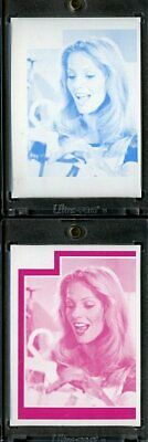 1977 Topps Charlies Angels Color Separation Proof Cards. #210