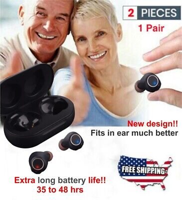 .2020 Rechargeable MIni Hearing Aids In the Ear Amplifier Sound Mini Set Small