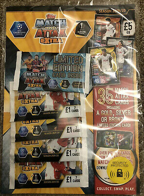 Match Attax Extra 2019/20 Multi Pack 19/20 Latest Brand New Sealed