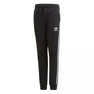 Adidas Girls TRF FT Track Fitness Pant Black XS Youth/Kids Sweatpant/Jogger 25""