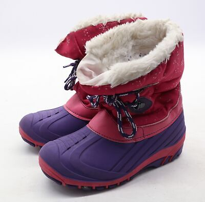Freewalk Girls EU Size 32 Pink Snowflake Snow Boots