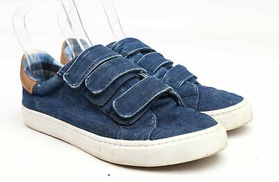 Marks & Spencer Boys UK Size 7 Blue Denim Look Trainers