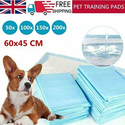 50 100 200 400 60X45Cm Large Puppy Training Pads Toilet Pee Wee Mats Pet Dog Cat