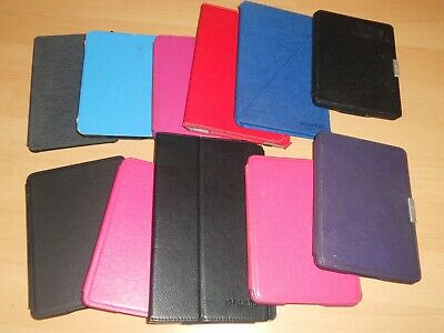 Job lot 11 cases inc Genuine Amazon Kindle Paperwhite Leather Cases pink black