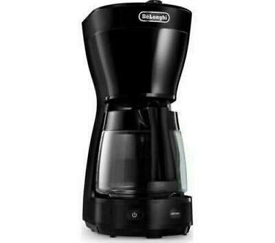 DELONGHI Coffee Filter Machine Maker 10 Cup Warm Plate 1000W Black ICM16210