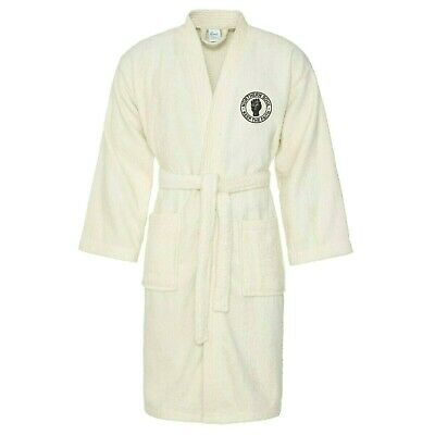 Unisex Northern Soul Bath Robe With Embroidered Fist Logo. Mod, Ska, Two-Tone
