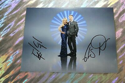 Jayne Torvill + Christopher Dean (Dancing on Ice - Olympic Gold) Signed Photo