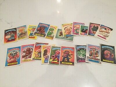 Garbage Pail Kids GPK 1980's Cards MISC Lot x20 Series 2-7 Great Condition