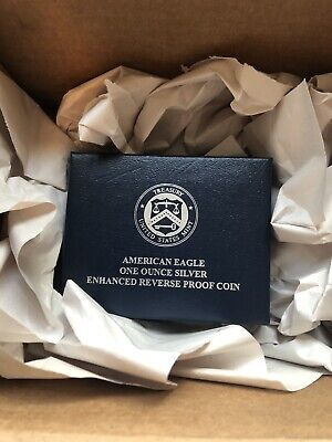 American Eagle 2019 One Ounce Silver Enhanced Reverse Proof Coin Ungraded