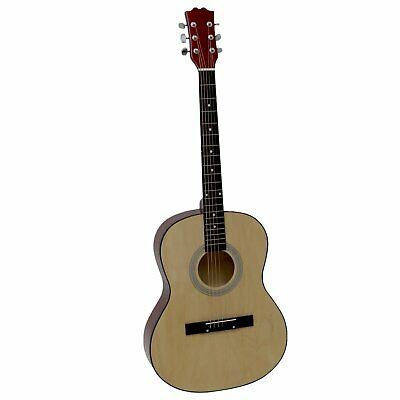 39' Full Size 4 4 6 String Steel Strung Acoustic Guitar Perfect for Beginner