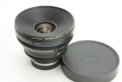 Carl Zeiss Distagon 35 /T2.1 T* Compact Prime CP.2  Canon EF  Mount