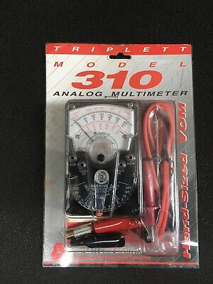 New Triplett 310 Compact Analog Multimeter VOM