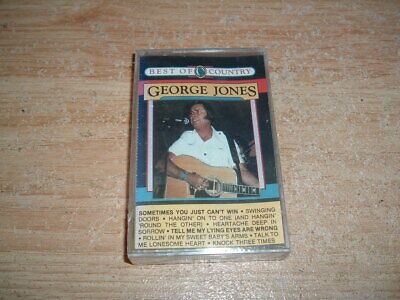 George Jones (Sometimes You Just Can't Win) Cassette (New And Sealed)