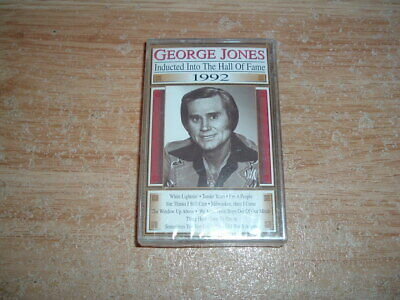 George Jones (Hall Of Fame) Cassette (New And Sealed)