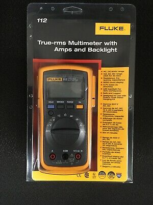 FLUKE 112 TRUE RMS MULTIMETER  New In Sealed Package