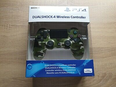 Sony PS4 DualShock 4 Wireless Controller - Green Camo (BRAND NEW SEALED