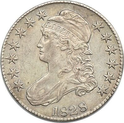 1828 Capped Bust Half Dollar, Extremely Fine, 50c C00048849