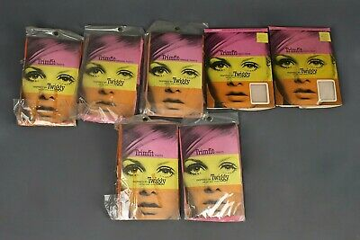 VTG Lot of 7 NOS Girl's 60s Twiggy Trimfit Tights Sz Petite - Tall 1960s