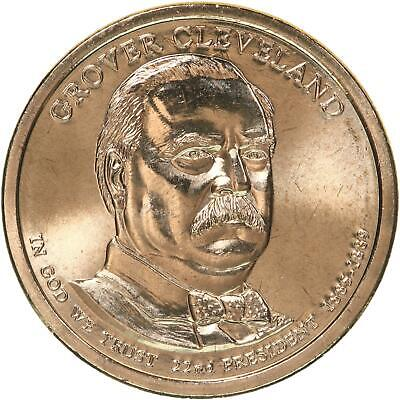 2012 S One Dollar Grover Cleveland  President Deep Cameo Mirror Proof 1st term