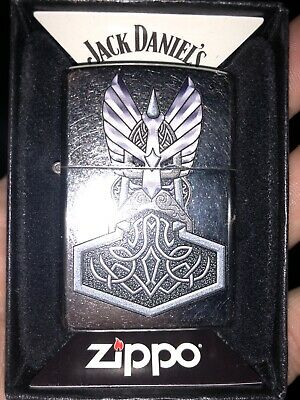 Zippo Lighter Windproof Viking Norse