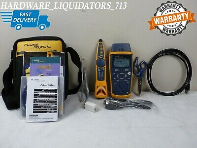 Fluke Cable IQ CIQ-KIT Qualification Tester Kit with IntelliTone Pro 200