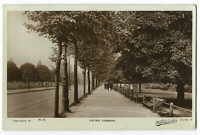 London Ealing Common 1918 Real Photo Vintage Postcard 14.12
