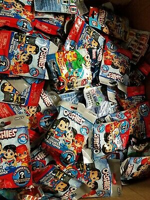 Ooshies Dc and Marvel comics pencil toppers blind pack lot of 4!