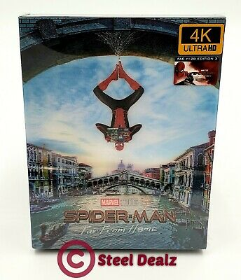 Spider-Man Far From Home  [2D + 3D + 4K Uhd] Blu-Ray Steelbook [Filmarena] #143