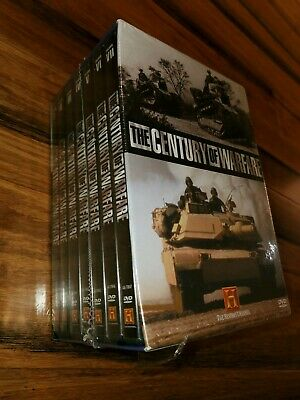 The Century of Warfare 7-Disc DVD Box Set WWI WWII The History Channel, Sealed